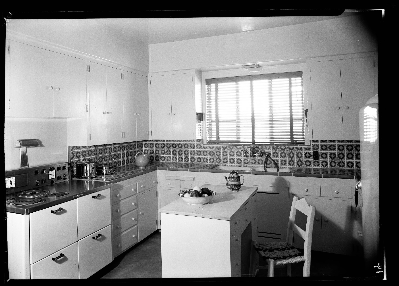 Kitchen of author Walt Coburn's house in Tucson, Arizona